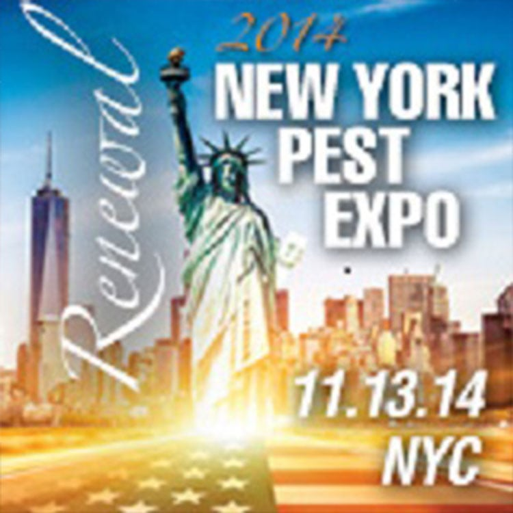 pest controller training at 2014 Pest Expo